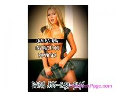 THE BEST CUCKOLD PHONE SEX - 866-249-3146 - Paris Knows What You NEED!