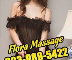 ????Flora Massage?????The Best Asian Massage??303-989-5422???100% Young Asian Girls?